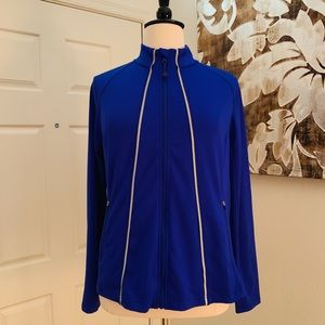 LIVI Active by Lane Bryant Blue Active Jacket
